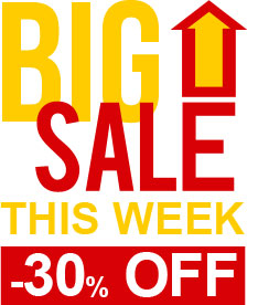 Big Sale This Week -30% OFF!