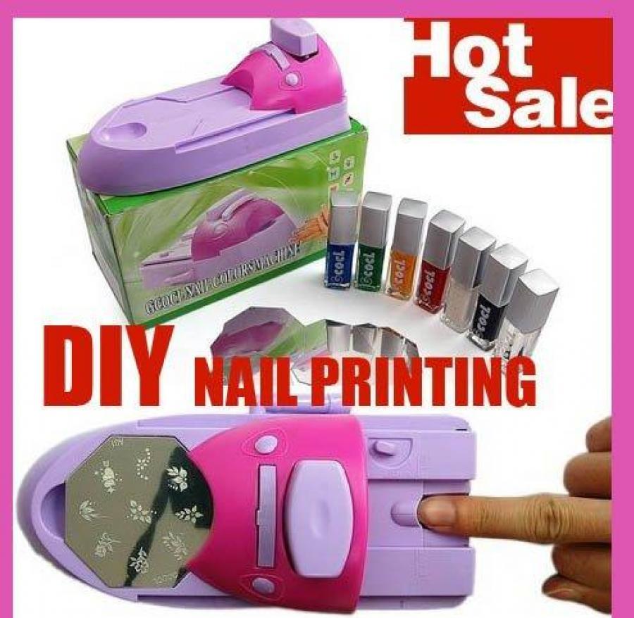 Diy Nail Art Stamp Printing Machine Price In Pakistan Buyteleshop