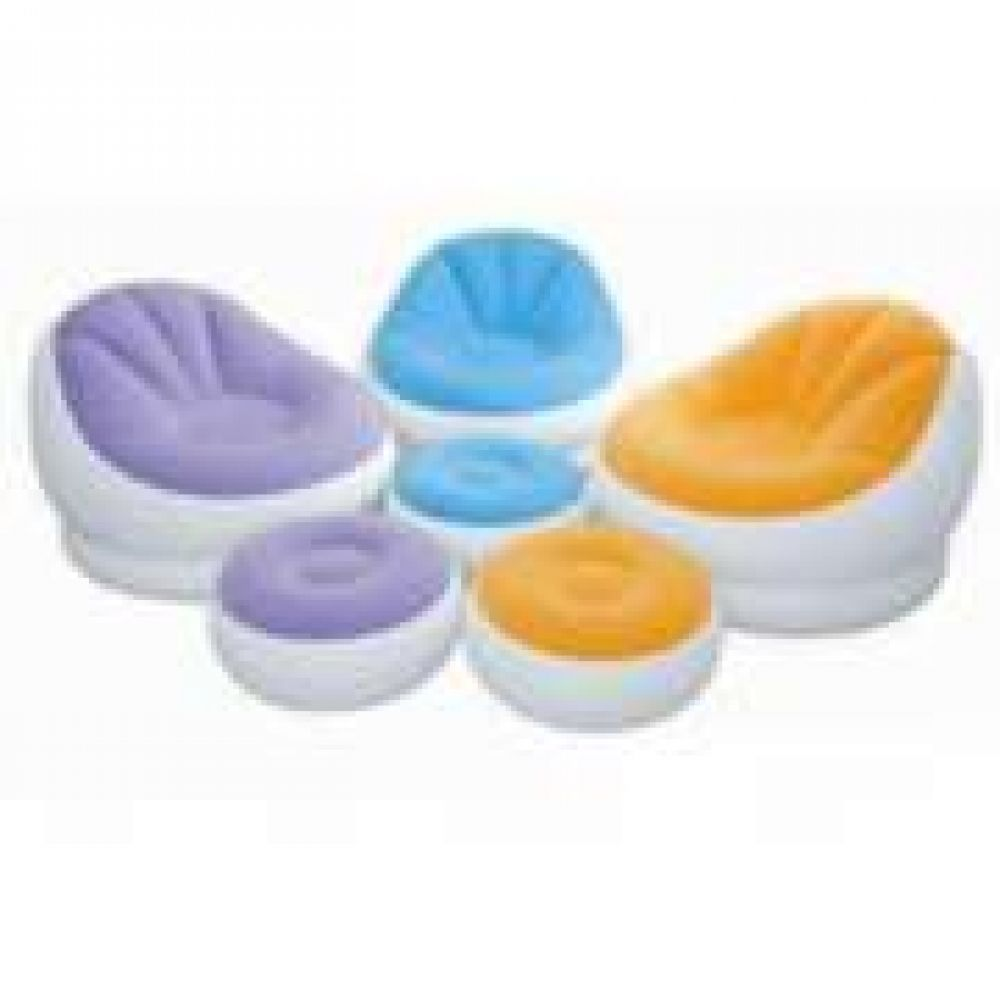 inflatable furniture set. inflatable sofa with footrest set intex 68564 inflatable furniture set u