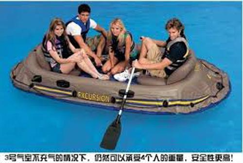 1 Intex Excursion 3 Inflatable Raft Set in Pakistan | Hitshop pk