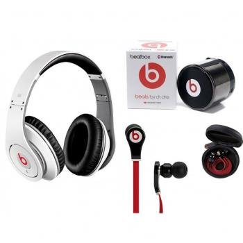 Monster Beats by Dr  dre  Studio Headphones  Earph