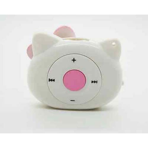 Hello Kitty Shaped Mini Mp3 Music Player With Earphone  Mini Us