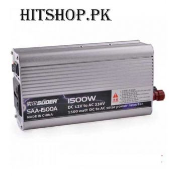 1500W DC 12V To AC 230V High-Power Solar Car Power