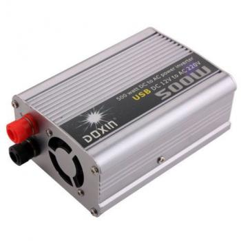 500w Watt Dc 12v To Ac 220v Power Inverter Car