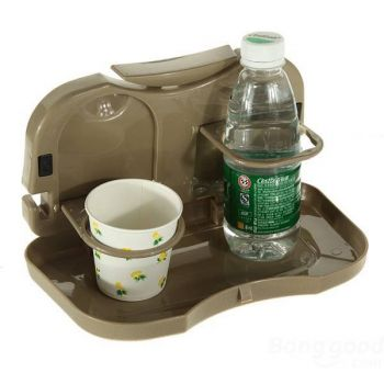 Car Travel Dining Tray Auto Food Table Desk Stand