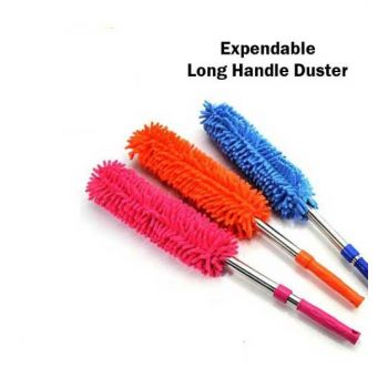 Four Side Expendable Long Handle Microfiber Duster