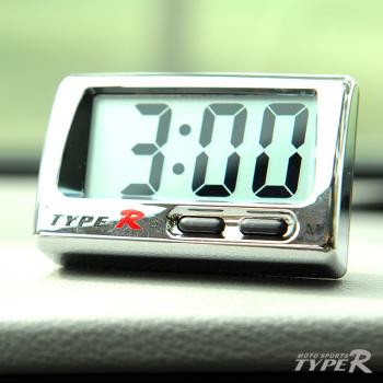 Moto Sports Typer Car Digital Clock