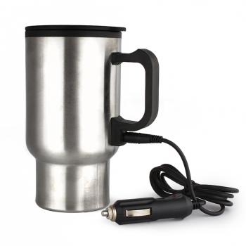Stainless Steel 12V Car Heated Travel Mug