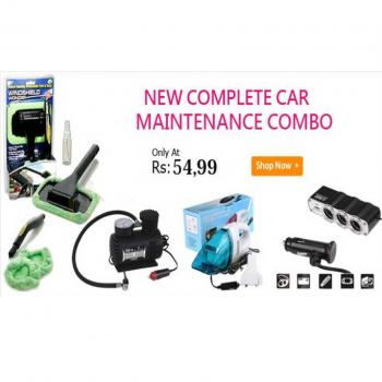 New Complete Car Maintenance Comobo