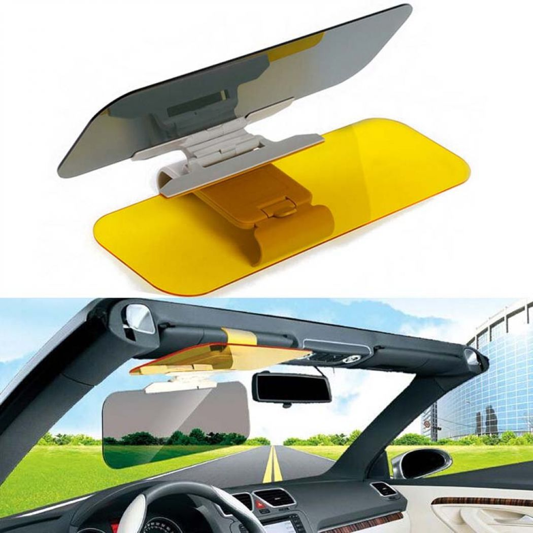 Car Anti Glare Dual Lens HD Vision Visor