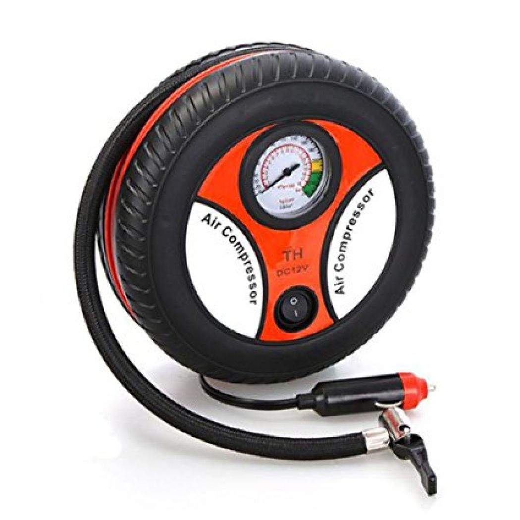 Mini Pump Electric Car Air Compressor