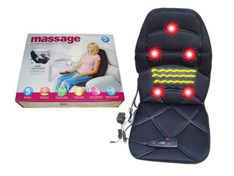 Car Seat Massager Backrest Cushion