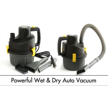 Speed Line Powerful Wet and Dry Auto Vacuum Cleane