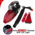 Auto Vacuum Cleaner With LED Light