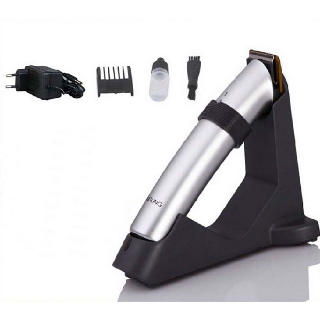 dingling rechargeable beard trimmer hair clipper rf 608 in pakistan hitshop. Black Bedroom Furniture Sets. Home Design Ideas