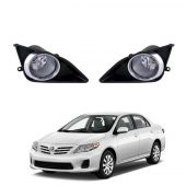 Toyota Corolla Fog Lamps with Glass Lens - Model 2