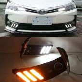 Toyota Corolla Mustang Style Facelift DRL Cover Ch