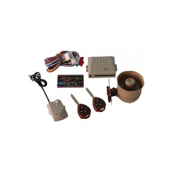 VPOWER CAR ALARM SYSTEM WITH METAL REMOTE CONTROLL