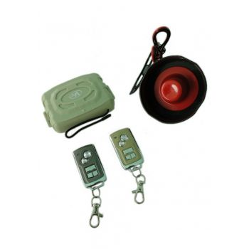 VPOWER HEAVY DUTY CAR ALARM SYSTEM WITH METAL REMO