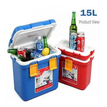 15 Liter Heat And Cold Mini Car Cooler