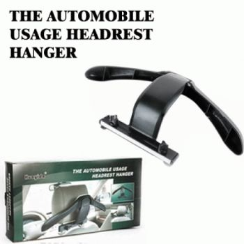 Automobile Headrest Coat Hanger