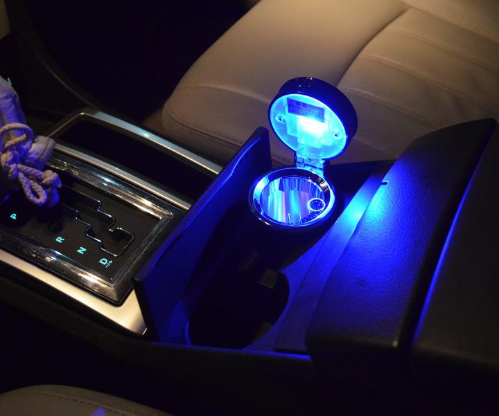 car ashtray with led light in pakistan hitshop. Black Bedroom Furniture Sets. Home Design Ideas