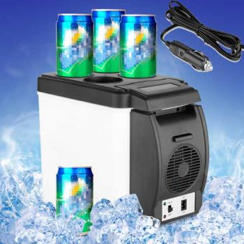 Car Mini Fridge Portable 12V Auto Travel Refrigera