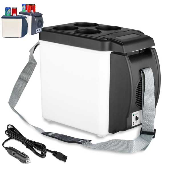 Car Mini Fridge Portable 12V Auto Travel Refrigerator