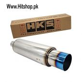 HKS Muffler Exhaust Extra Large - Silver