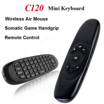 Mini Portable Wireless Air Mouse Keyboard