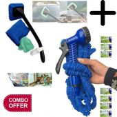 Pack of 2 Expendable 50ft Magic Hose Pipe With Car