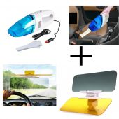 Set of 2 Car Care HD Vision Visor Car Anti-Glare C
