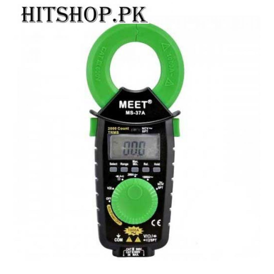 Slim Pocket Clamp Meter MS-37A