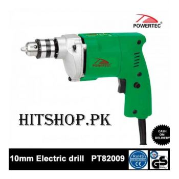Powertec 300W Hand 10mm Electric Drill