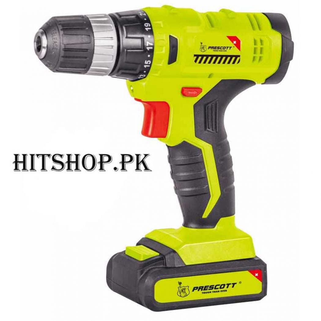 Prescott High Quality 16V Li-Ion Screwdriver And C