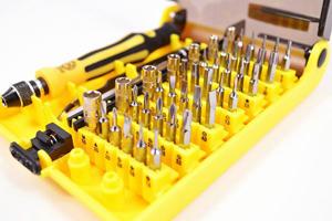 45 Piece Precision Screwdriver Tool Kit