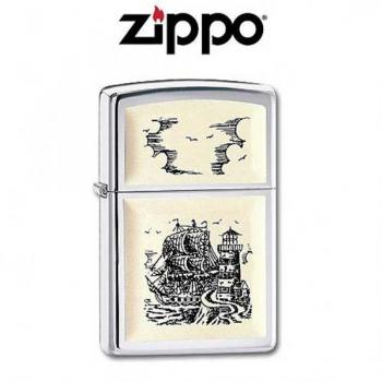 Zippo cigarette lighter Ship Z35