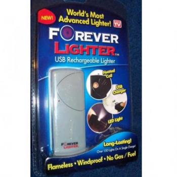 Forever cigarette Lighter USB Rechargeable Lighter