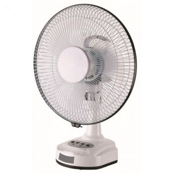 Blue Deep 12Inch Rechargeable Fan DP-1264
