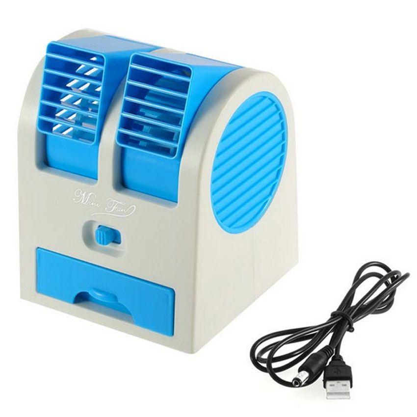 Portable Sports Fan : Portable dual port usb air cooler fan in pakistan hitshop