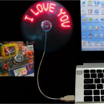USB LED Light Fan