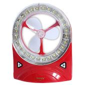 Rechargeable Fan with Super Bright SMD Emergency L