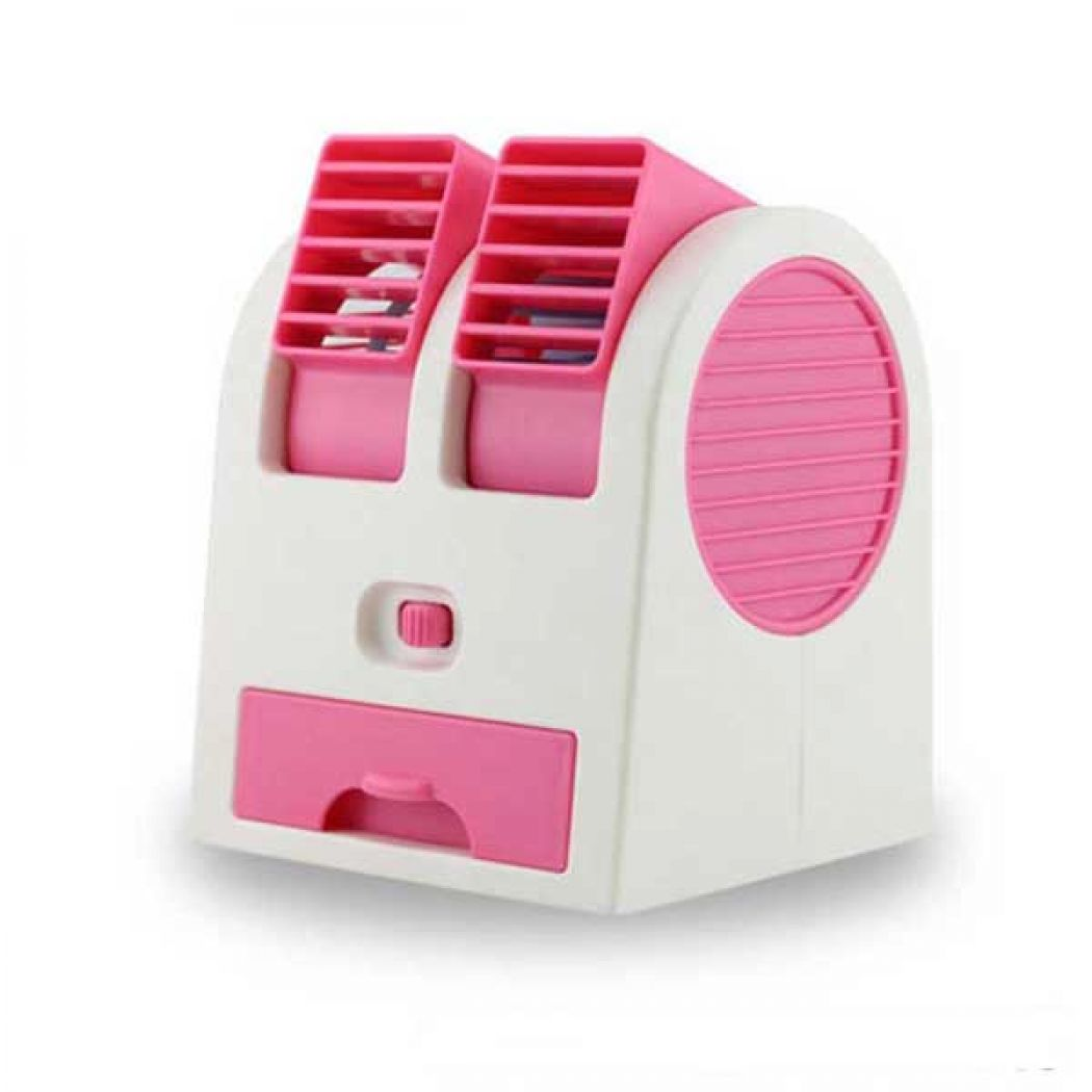 Mini Air Conditioner Shaped Perfume Turbine USB Fa