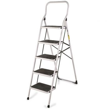 5 Step Steel Ladder