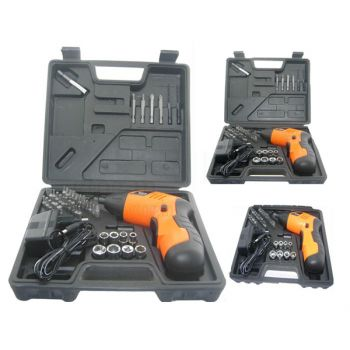 Cordless Drill Machine 12v With Extra Battery And