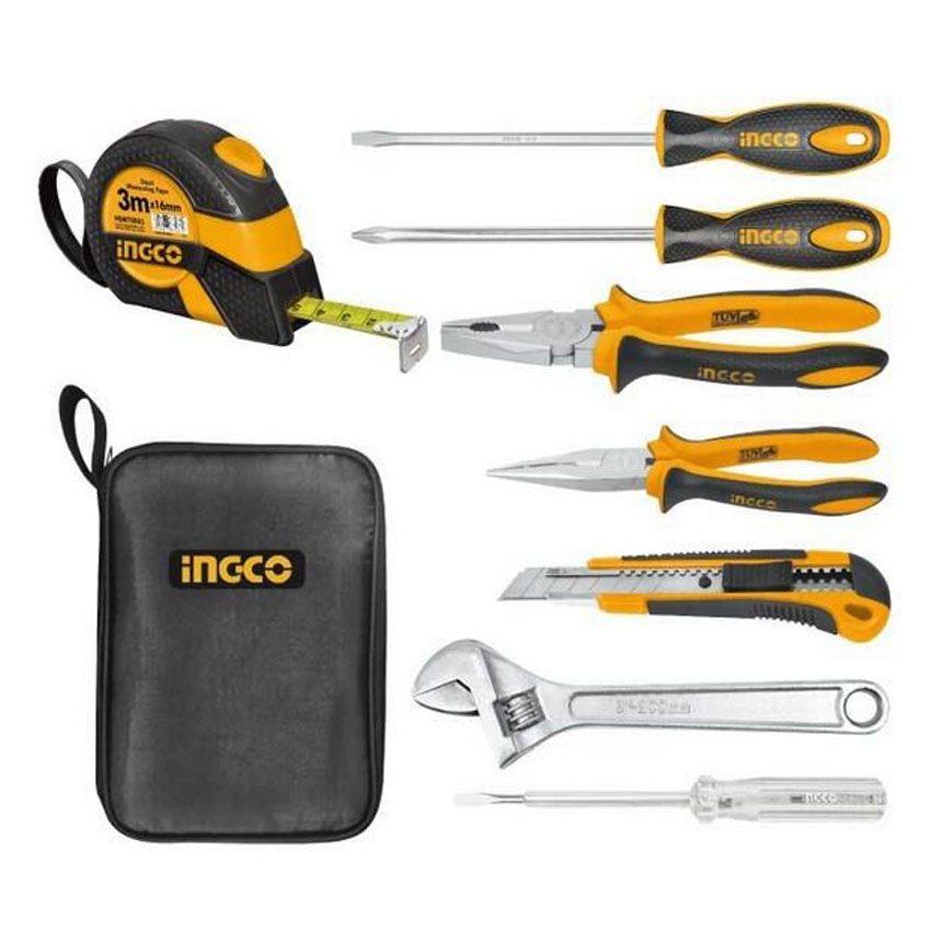 Ingco 8 pcs tool set in pakistan hitshop for Gardening tools in pakistan