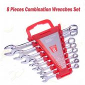 8 Pcs Combination Wrench Set