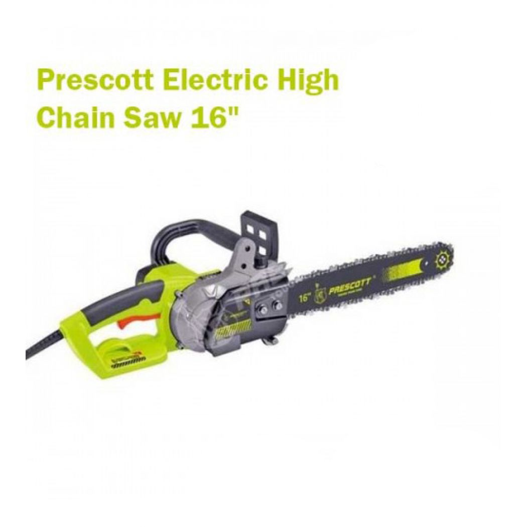 Prescott Electric High Chain Saw 16 Inch