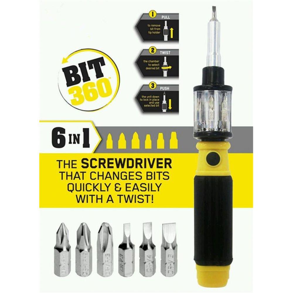 bit 360 all in one screwdriver and bit set in pakistan hitshop. Black Bedroom Furniture Sets. Home Design Ideas