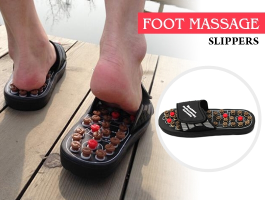 Massager Reflex Reflexology Slippers